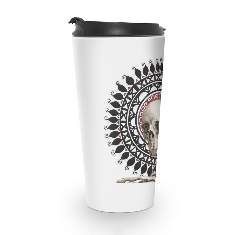 Saint Skeleton Accessories Travel Mug by Natou's Artist Shop