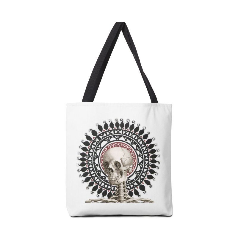 Saint Skeleton Accessories Bag by Natou's Artist Shop