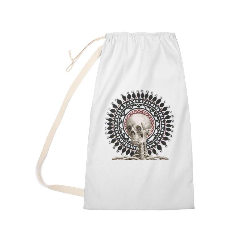 Saint Skeleton Accessories Bag by Natou's Artist Shop