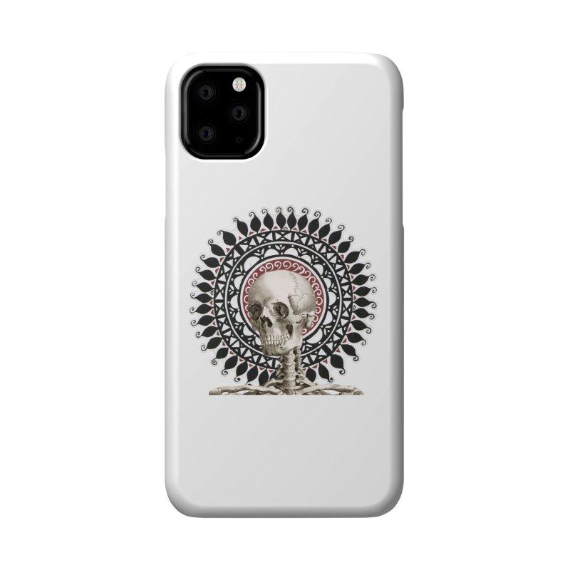 Saint Skeleton Accessories Phone Case by Natou's Artist Shop