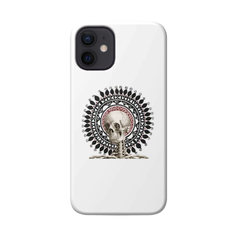 Saint Skeleton Accessories Phone Case by Natou's Artist Shop