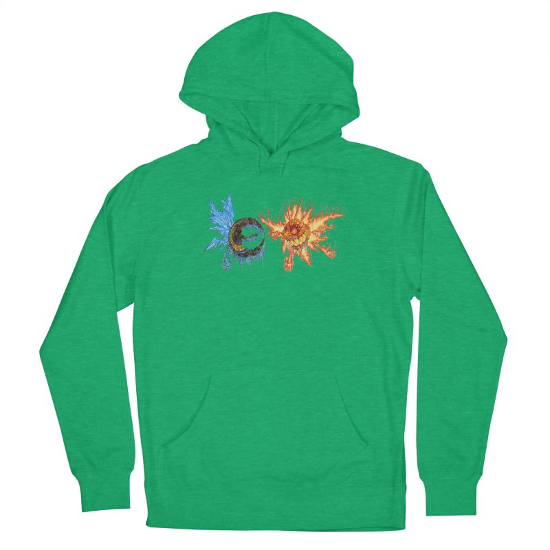 Luna and Sol Women's French Terry Pullover Hoody by Natou's Artist Shop