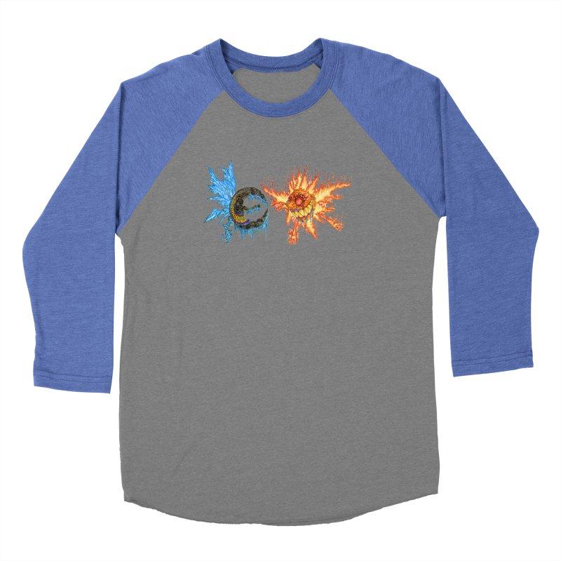 Luna and Sol Women's Baseball Triblend Longsleeve T-Shirt by Natou's Artist Shop