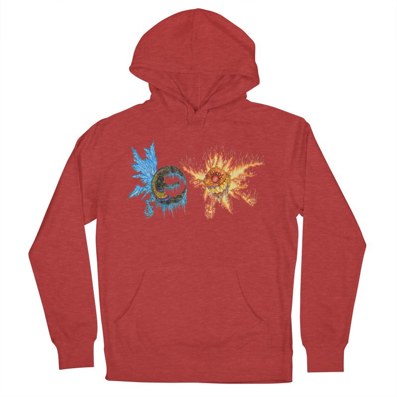 Luna and Sol Men's French Terry Pullover Hoody by Natou's Artist Shop