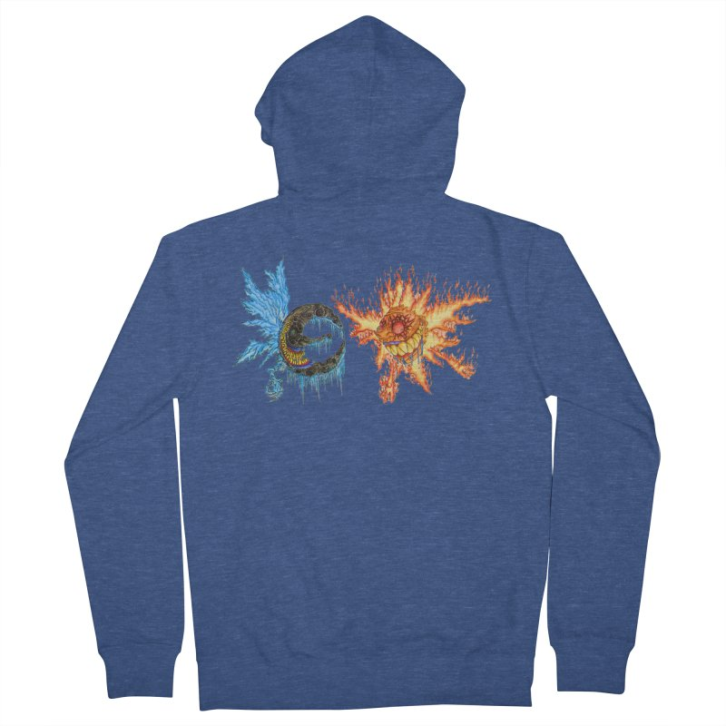 Luna and Sol Women's French Terry Zip-Up Hoody by Natou's Artist Shop