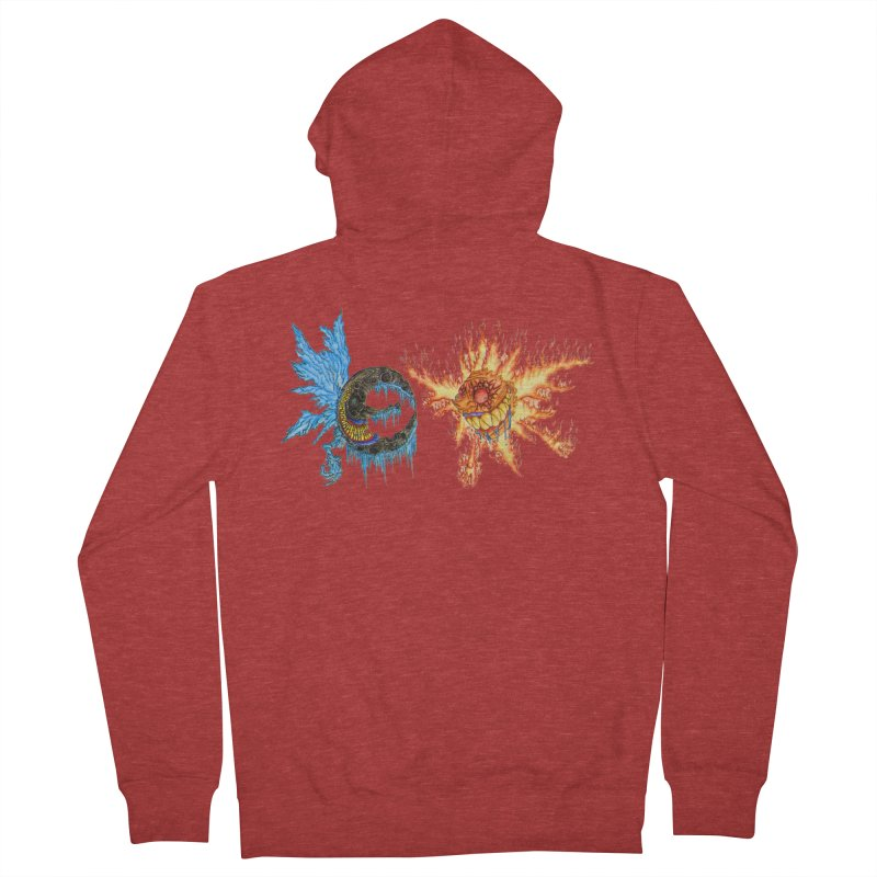 Luna and Sol Men's French Terry Zip-Up Hoody by Natou's Artist Shop