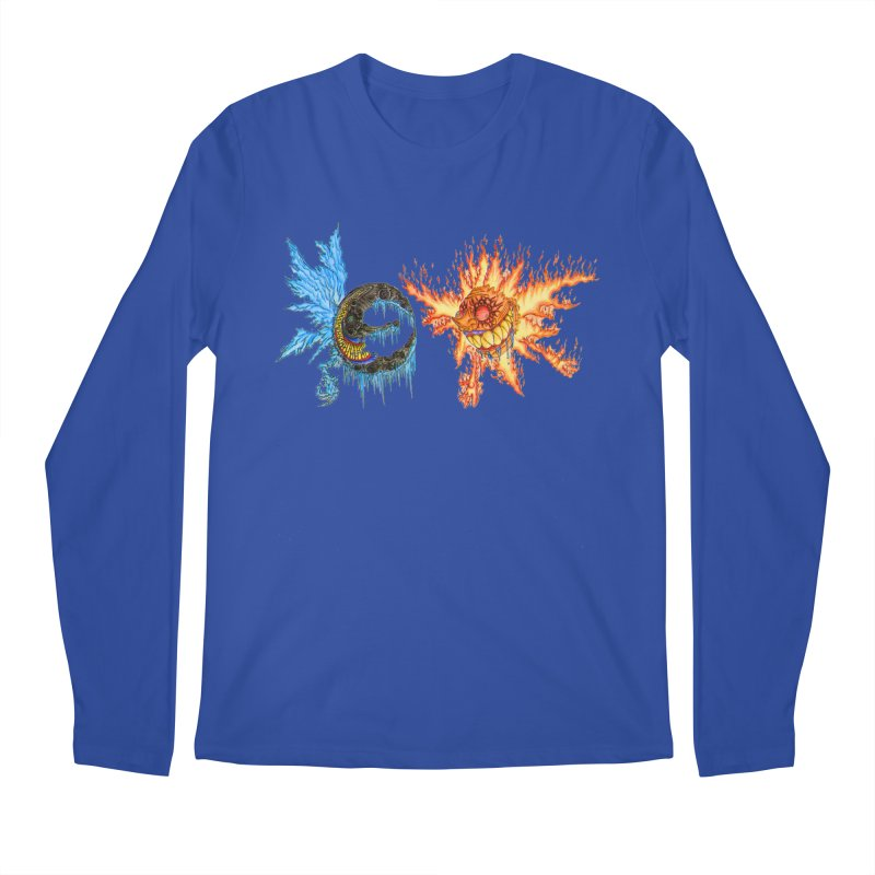 Luna and Sol Men's Regular Longsleeve T-Shirt by Natou's Artist Shop