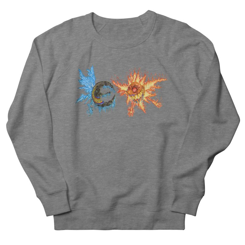 Luna and Sol Women's French Terry Sweatshirt by Natou's Artist Shop
