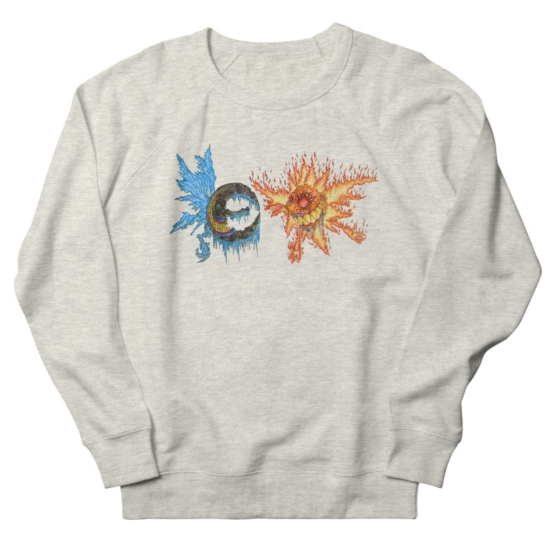 Luna and Sol Men's French Terry Sweatshirt by Natou's Artist Shop