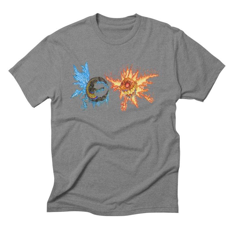 Luna and Sol Men's Triblend T-Shirt by Natou's Artist Shop