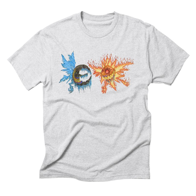 Luna and Sol Men's Triblend T-Shirt by Natou's Artist Shop