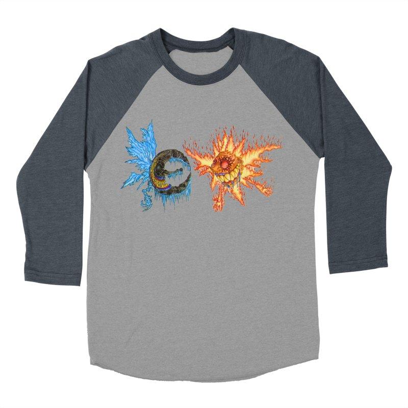 Luna and Sol Women's Baseball Triblend T-Shirt by Natou's Artist Shop