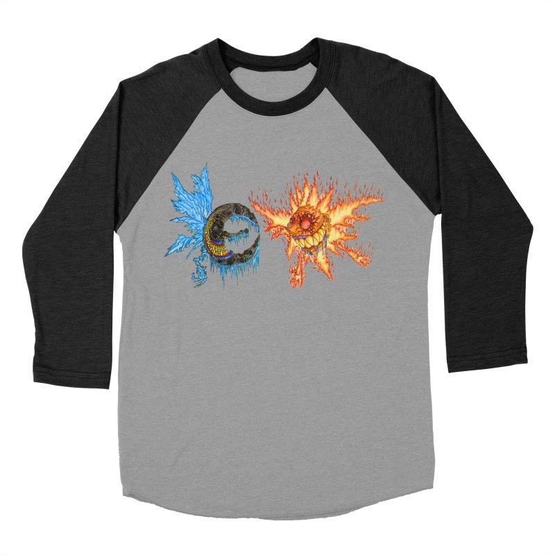 Luna and Sol Men's Baseball Triblend T-Shirt by Natou's Artist Shop