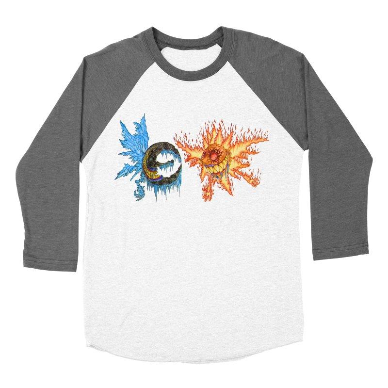 Luna and Sol Men's Baseball Triblend Longsleeve T-Shirt by Natou's Artist Shop