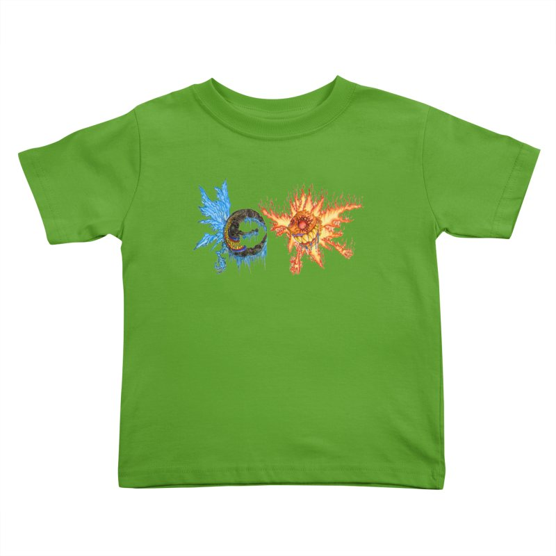 Luna and Sol Kids Toddler T-Shirt by Natou's Artist Shop