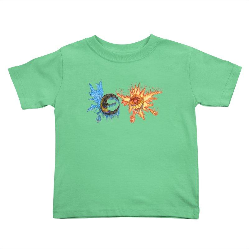 Luna and Sol Kids Toddler T-Shirt by Natou's Artist Shop
