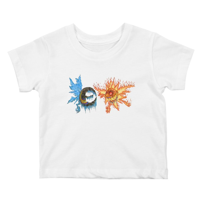 Luna and Sol Kids Baby T-Shirt by Natou's Artist Shop