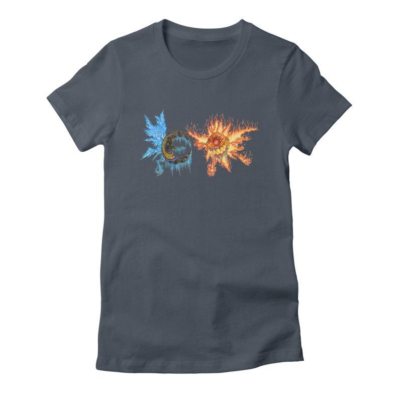 Luna and Sol Women's T-Shirt by Natou's Artist Shop