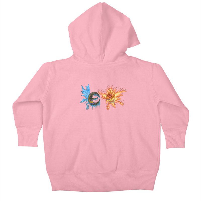 Luna and Sol Kids Baby Zip-Up Hoody by Natou's Artist Shop