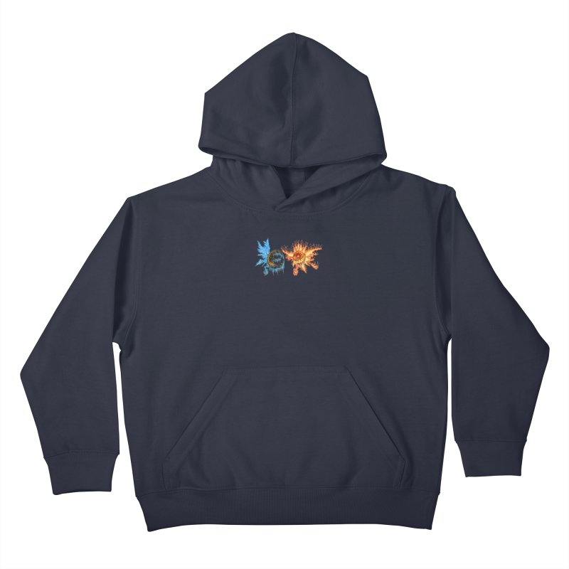 Luna and Sol Kids Pullover Hoody by Natou's Artist Shop