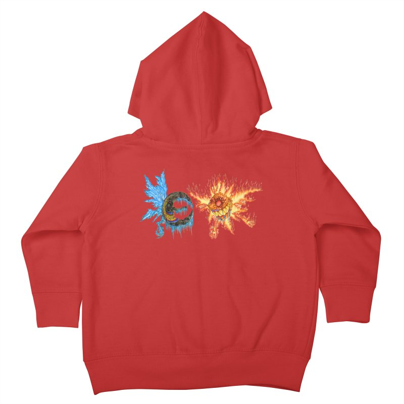 Luna and Sol Kids Toddler Zip-Up Hoody by Natou's Artist Shop