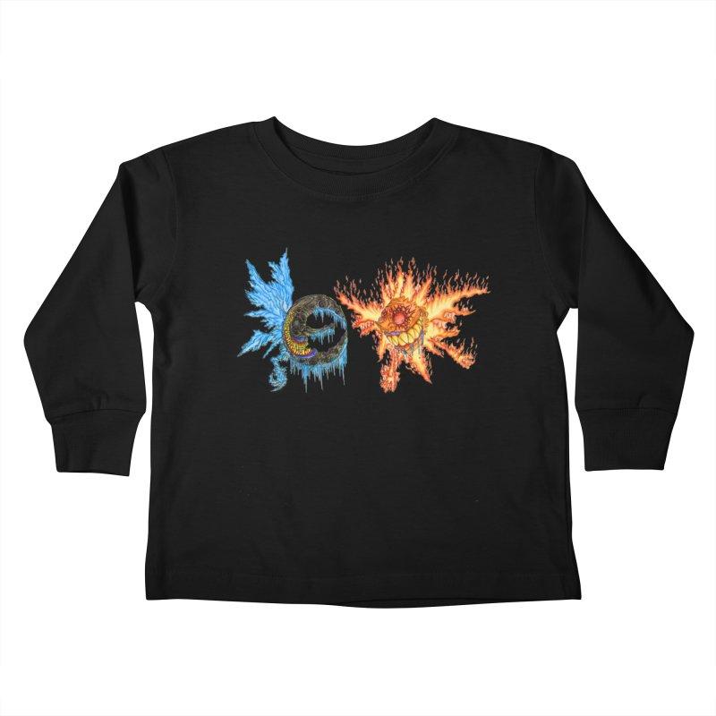 Luna and Sol Kids Toddler Longsleeve T-Shirt by Natou's Artist Shop