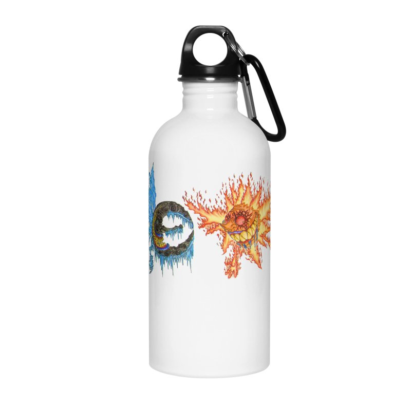 Luna and Sol Accessories Water Bottle by Natou's Artist Shop