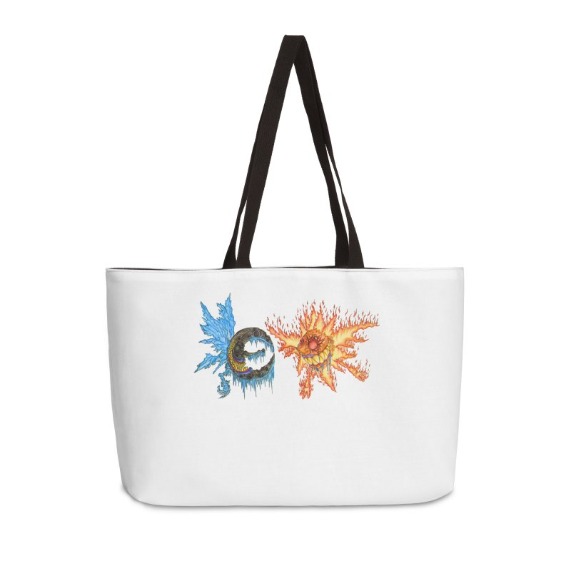 Luna and Sol Accessories Weekender Bag Bag by Natou's Artist Shop