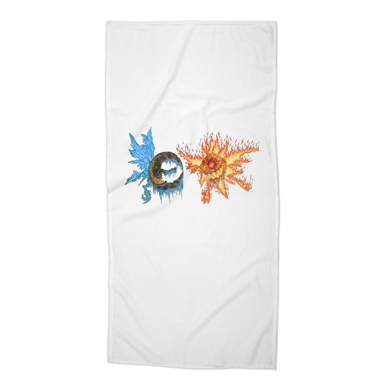 Luna and Sol Accessories Beach Towel by Natou's Artist Shop