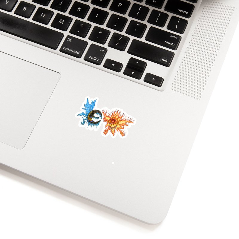 Luna and Sol Accessories Sticker by Natou's Artist Shop
