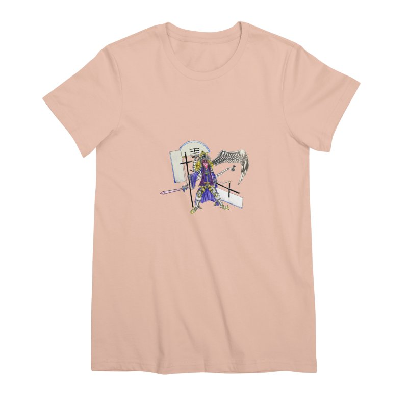 Trip knight 01 Women's Premium T-Shirt by Natou's Artist Shop