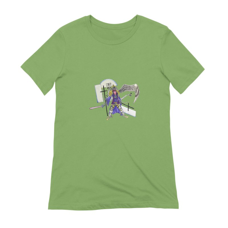 Trip knight 01 Women's Extra Soft T-Shirt by Natou's Artist Shop