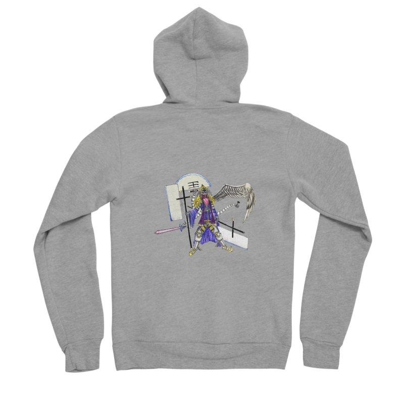Trip knight 01 Men's Sponge Fleece Zip-Up Hoody by Natou's Artist Shop