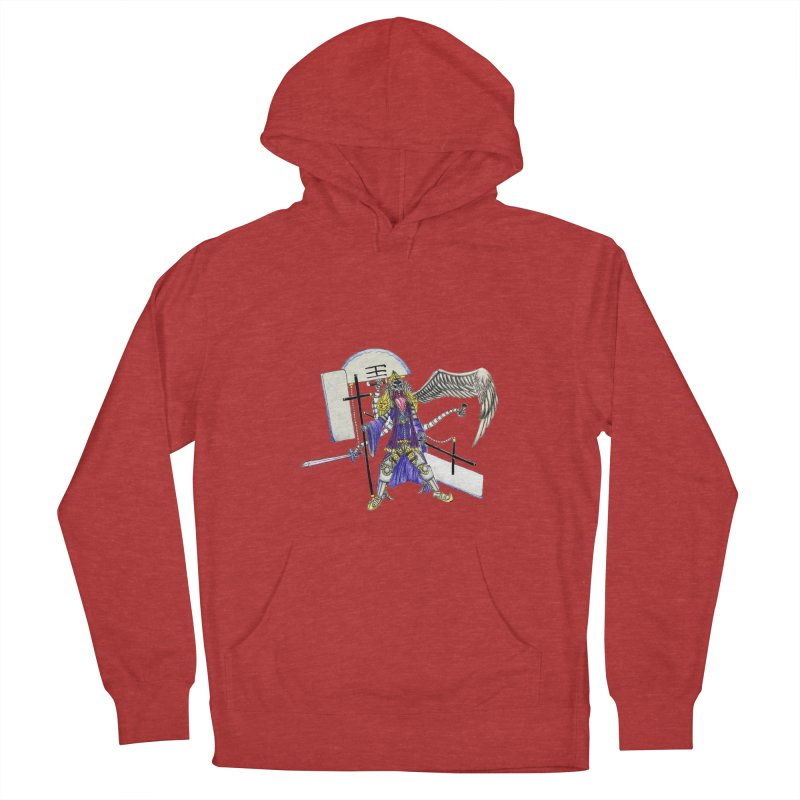 Trip knight 01 Women's French Terry Pullover Hoody by Natou's Artist Shop