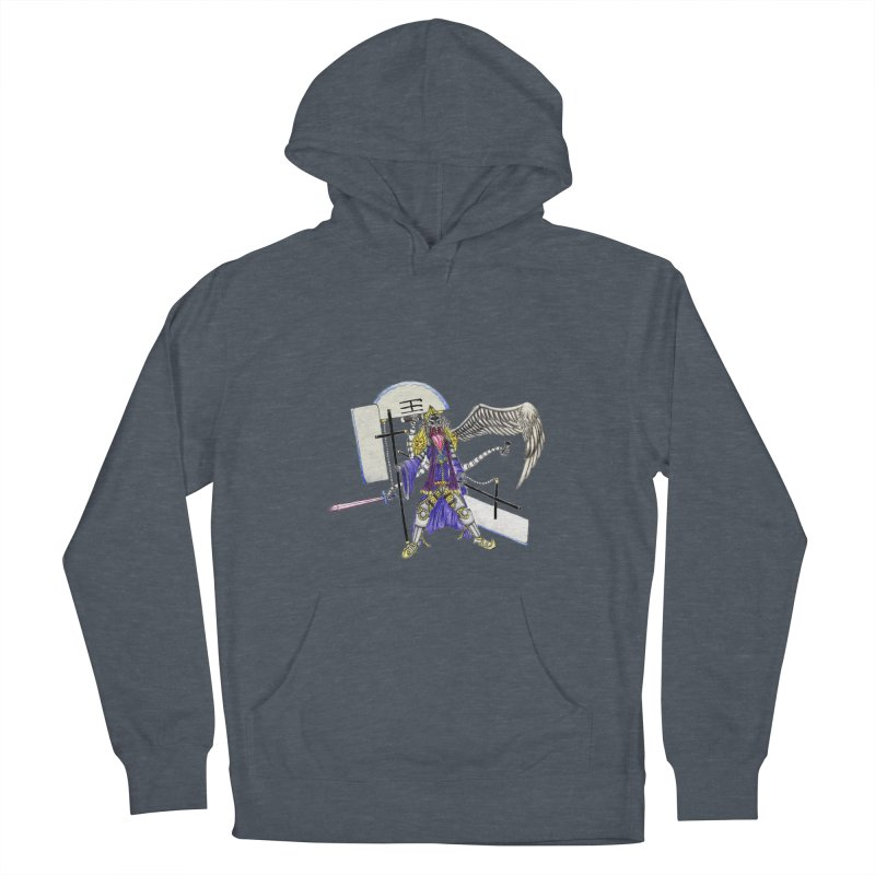 Trip knight 01 Men's French Terry Pullover Hoody by Natou's Artist Shop