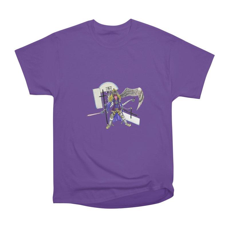 Trip knight 01 Women's Heavyweight Unisex T-Shirt by Natou's Artist Shop