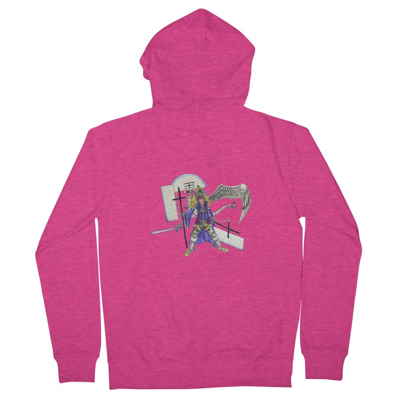 Trip knight 01 Women's French Terry Zip-Up Hoody by Natou's Artist Shop