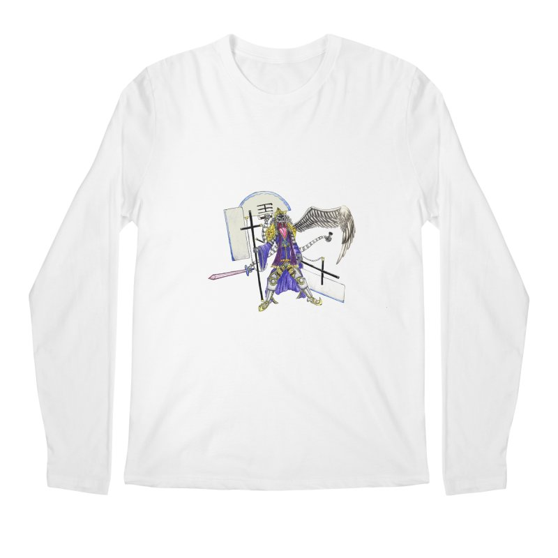 Trip knight 01 Men's Regular Longsleeve T-Shirt by Natou's Artist Shop