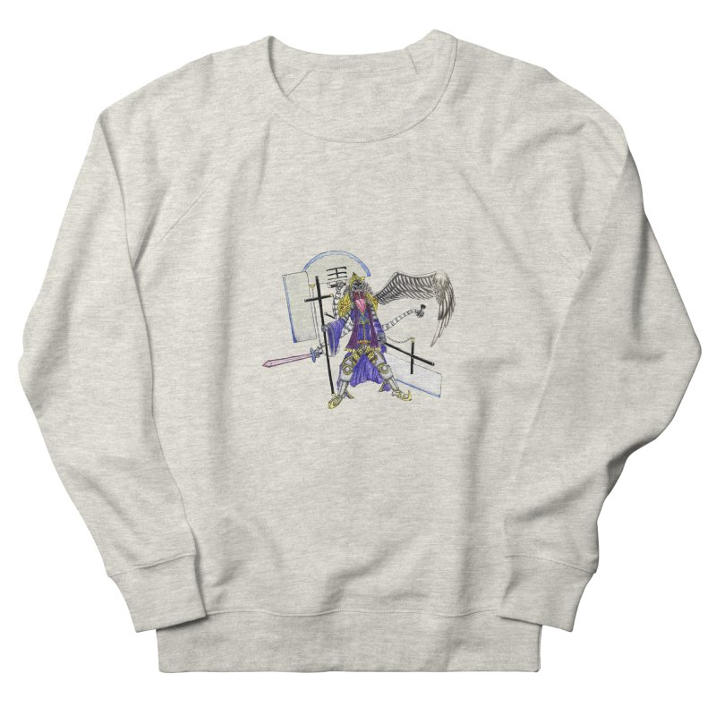 Trip knight 01 Men's French Terry Sweatshirt by Natou's Artist Shop