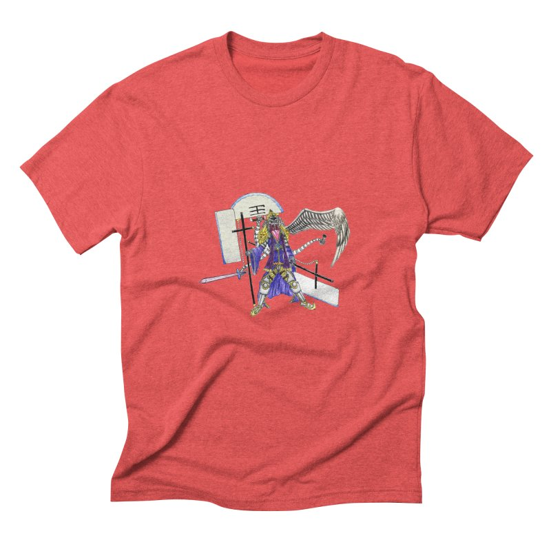 Trip knight 01 Men's Triblend T-Shirt by Natou's Artist Shop