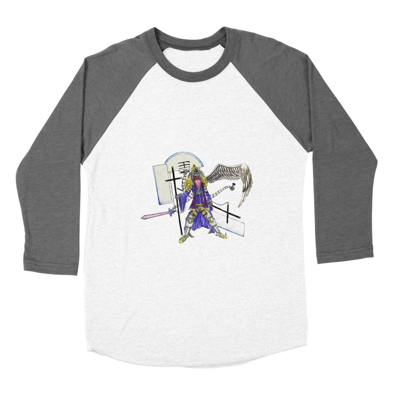 Trip knight 01 Women's Longsleeve T-Shirt by Natou's Artist Shop