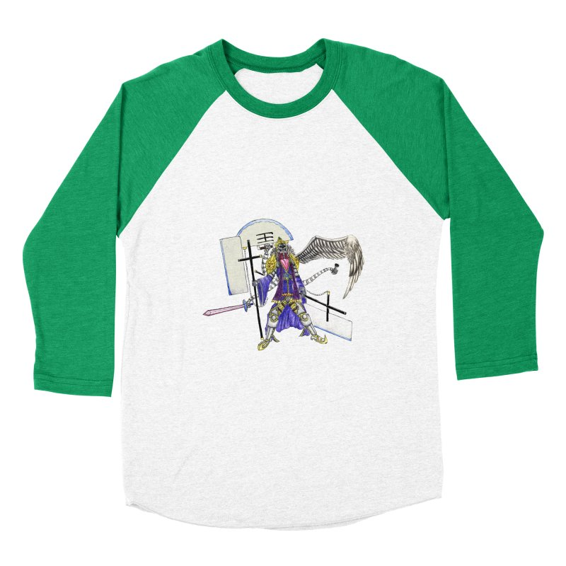 Trip knight 01 Women's Baseball Triblend Longsleeve T-Shirt by Natou's Artist Shop
