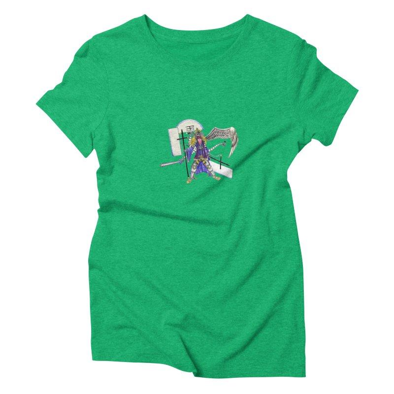 Trip knight 01 Women's Triblend T-Shirt by Natou's Artist Shop
