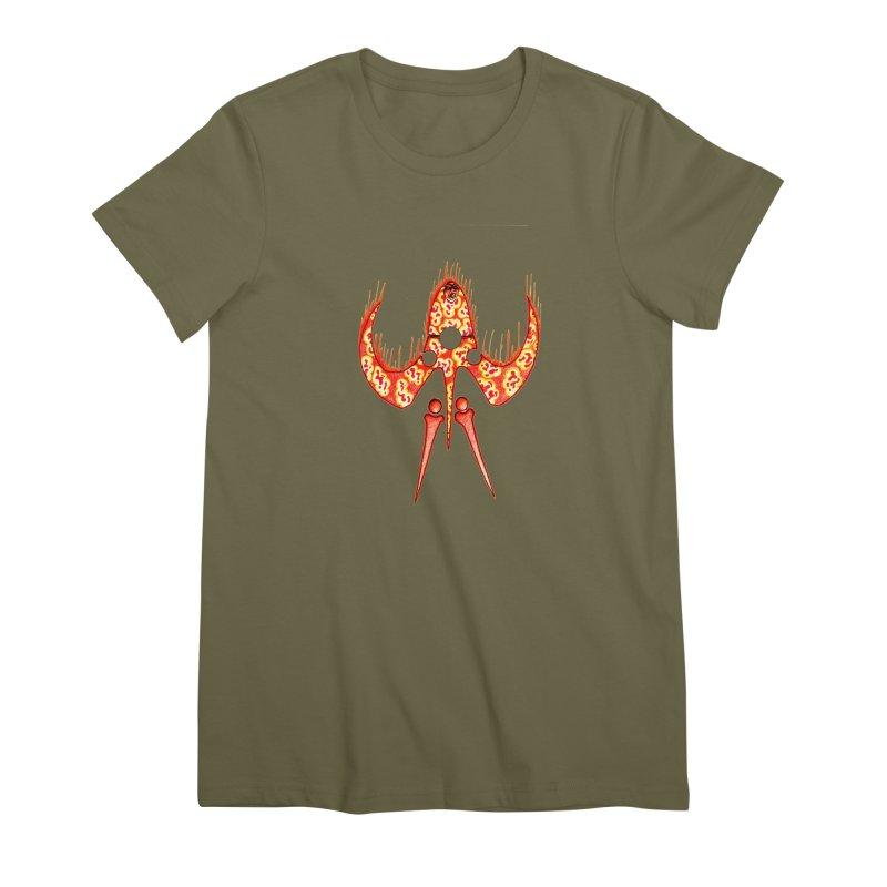 Trip Orange Women's Premium T-Shirt by Natou's Artist Shop
