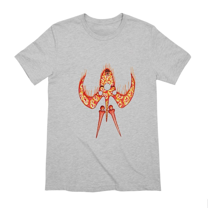 Trip Orange Men's Extra Soft T-Shirt by Natou's Artist Shop