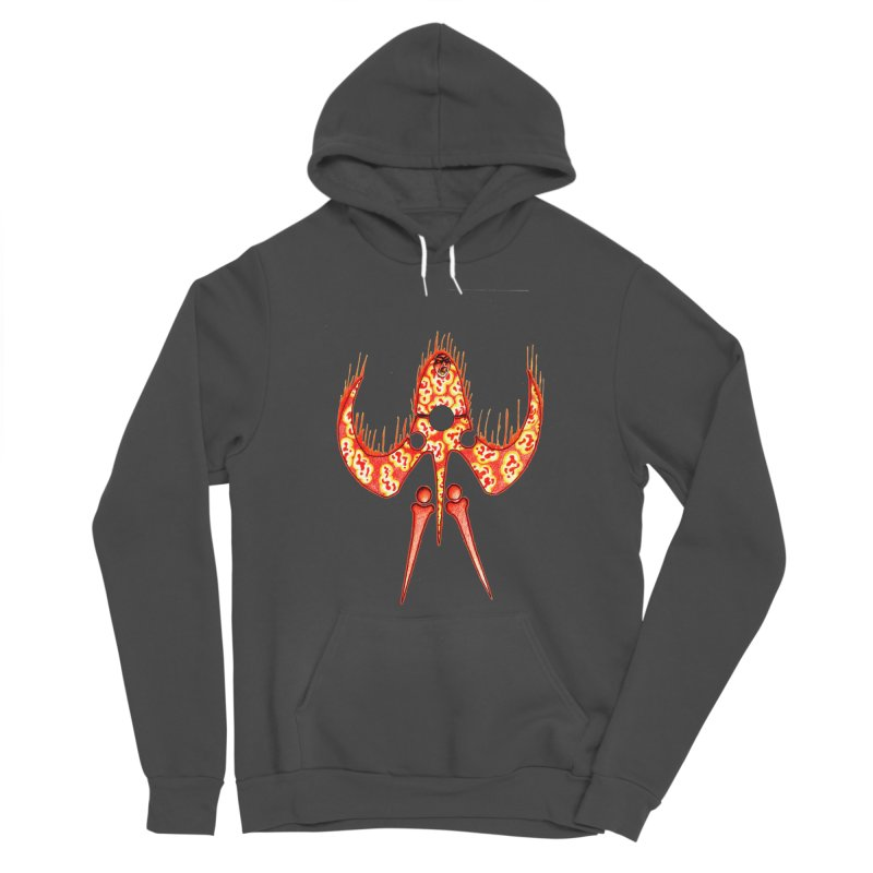 Trip Orange Women's Pullover Hoody by Natou's Artist Shop