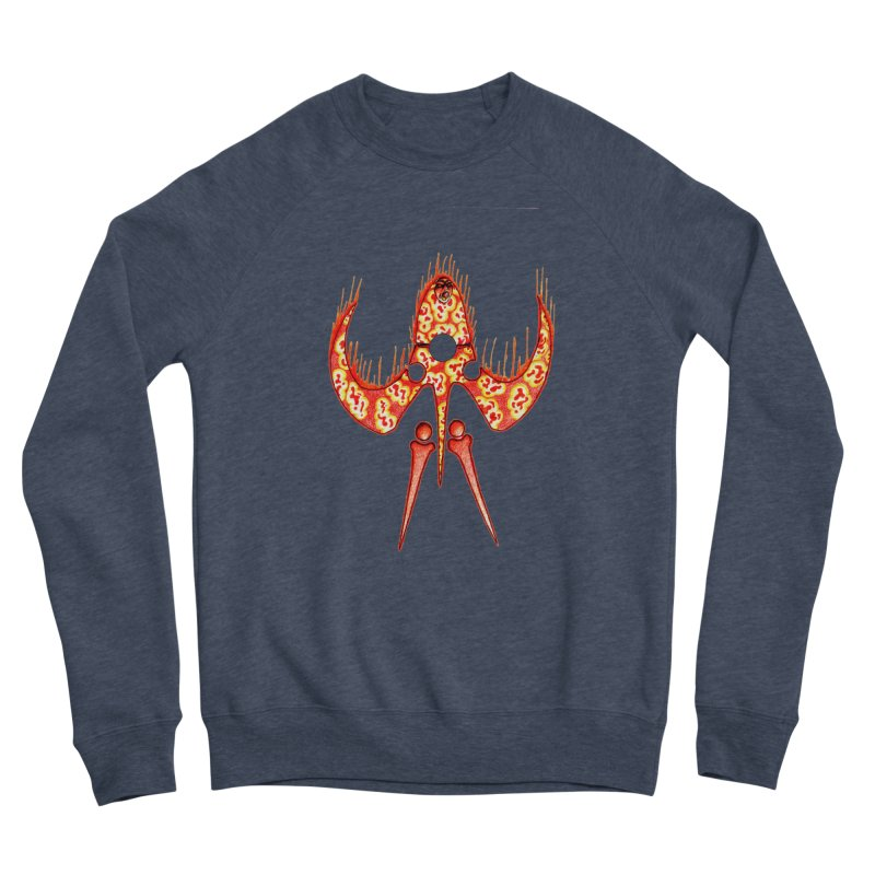 Trip Orange Women's Sponge Fleece Sweatshirt by Natou's Artist Shop