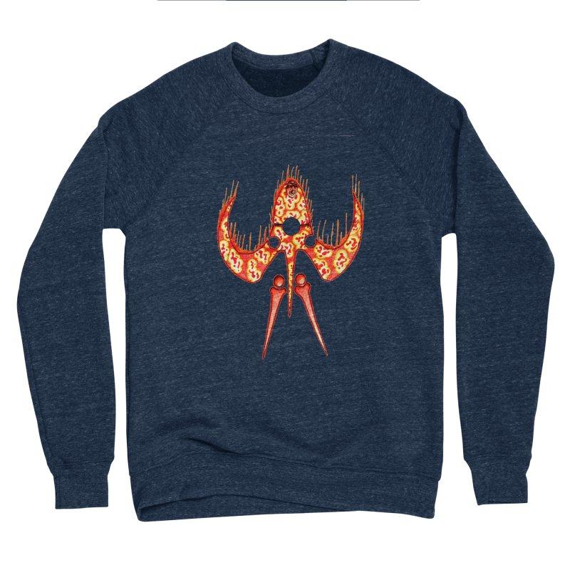 Trip Orange Men's Sponge Fleece Sweatshirt by Natou's Artist Shop