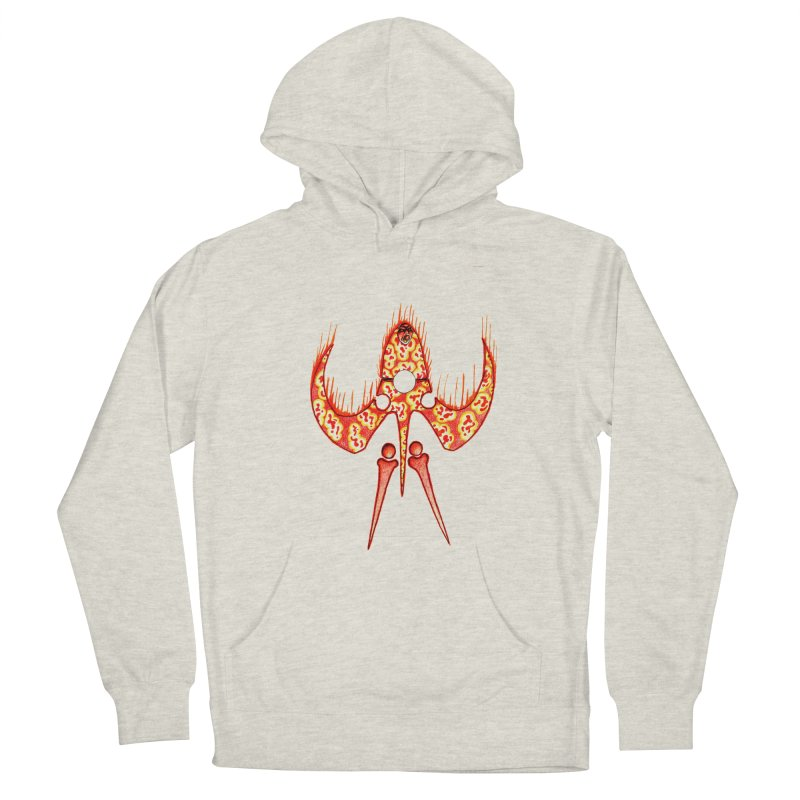 Trip Orange Men's French Terry Pullover Hoody by Natou's Artist Shop