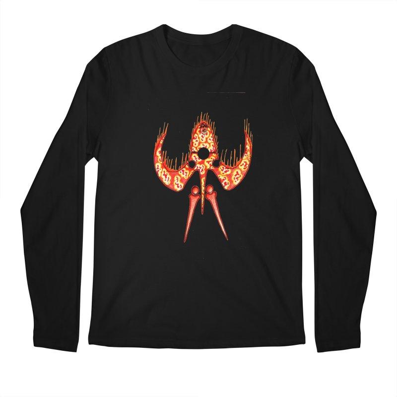 Trip Orange Men's Regular Longsleeve T-Shirt by Natou's Artist Shop